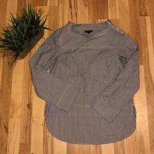 Striped J. Crew dress shirt